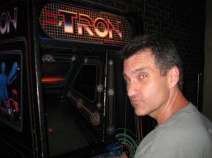 Back in the day, I was a master of the Tron arcade game.