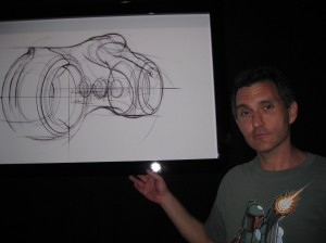 I was very impressed with the sketch of the new lightcycle.
