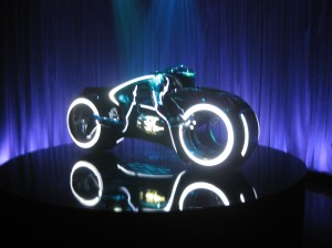I was even more impressed with the actual lightcycle!!