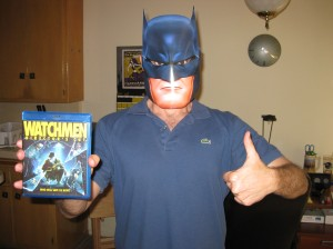 Batman thinks you should check out the Watchmen Director's Cut on DVD and Bluray.