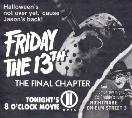 friday the 13th part 4 the final chapter tv