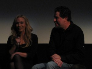 Writer and Director, Don Coscarelli and Kat Lester, the lady in lavender.