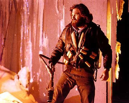 Kurt Russell in another badass iconic role for John Carpenter.