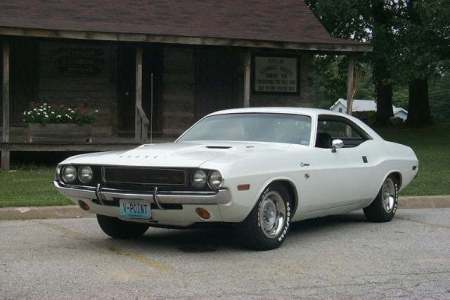 This is the white 1970 Dodge Challenger that is the star of both DEATH PROOF and VANISHING POINT.