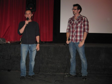 Michael Dougherty introduces his movie at the New Bev.