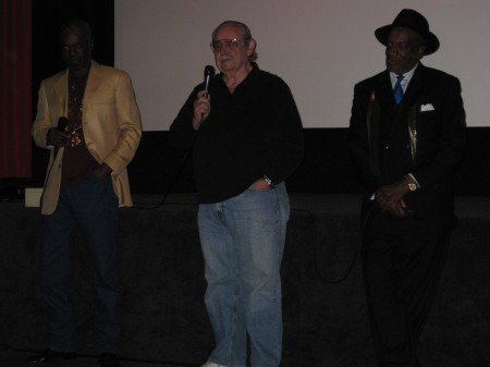 GLYNN (J.D.) TURMAN, director ARTHUR MARKS and co-star, CARL CRUDUP from J.D.'s REVENGE.