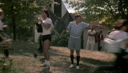 The most awesome pairing of two guys wearing shorts ever!